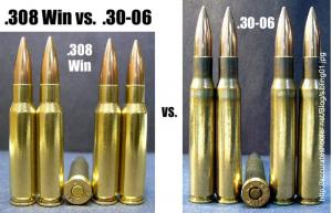 .308 Winchester vs. .30-06 Springfield
