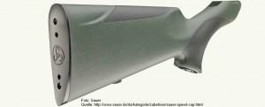 Lösung der Hersteller: Sauer Speed Cap