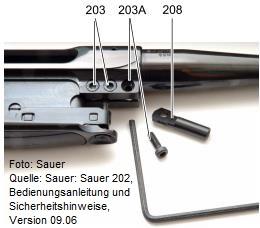 Lauf-Systemverbindung einer S202