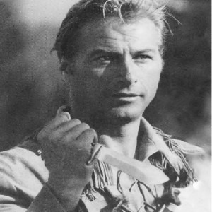 Lex Barker mit White Hunter