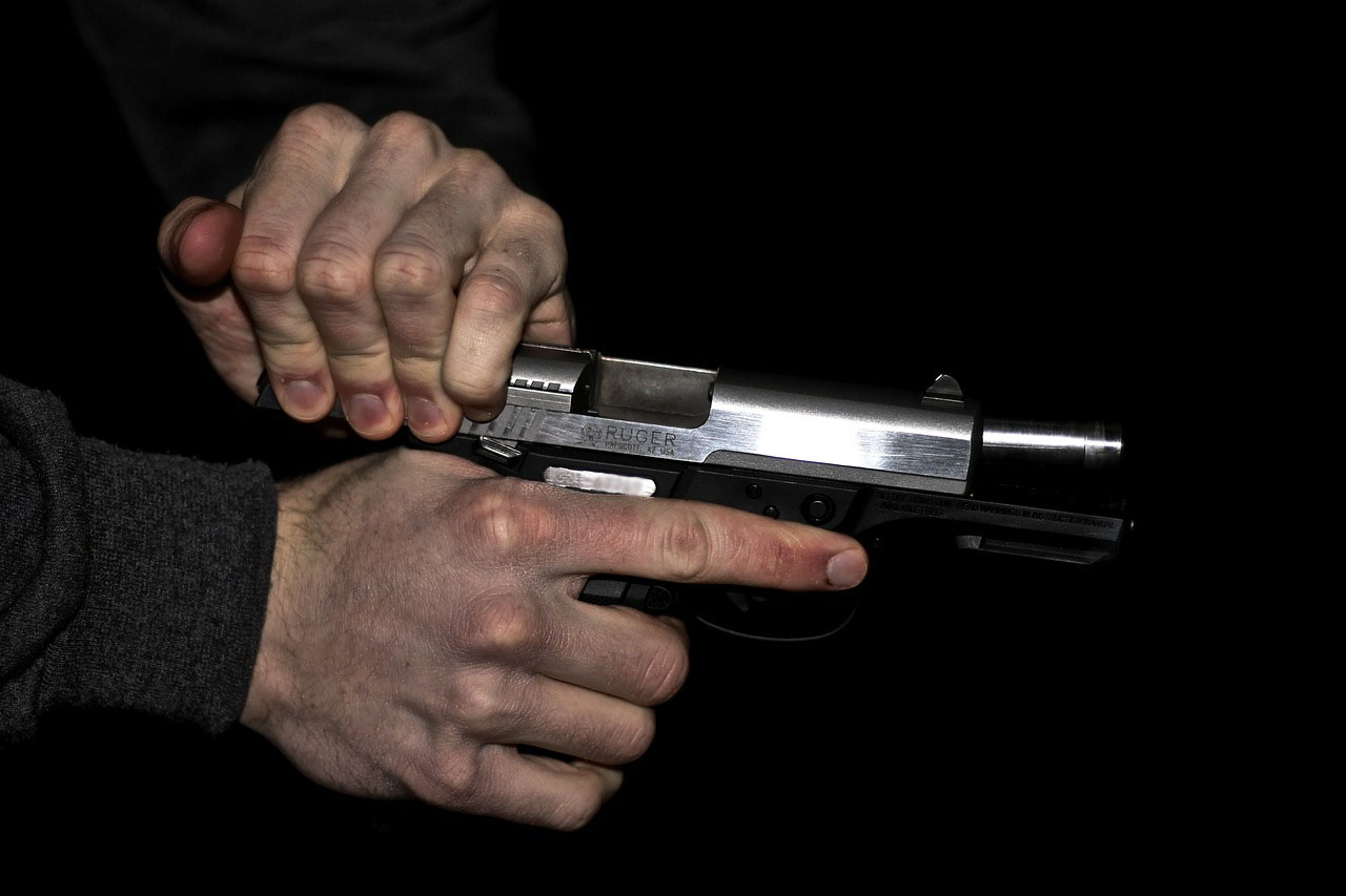 Pistole Fangschuss
